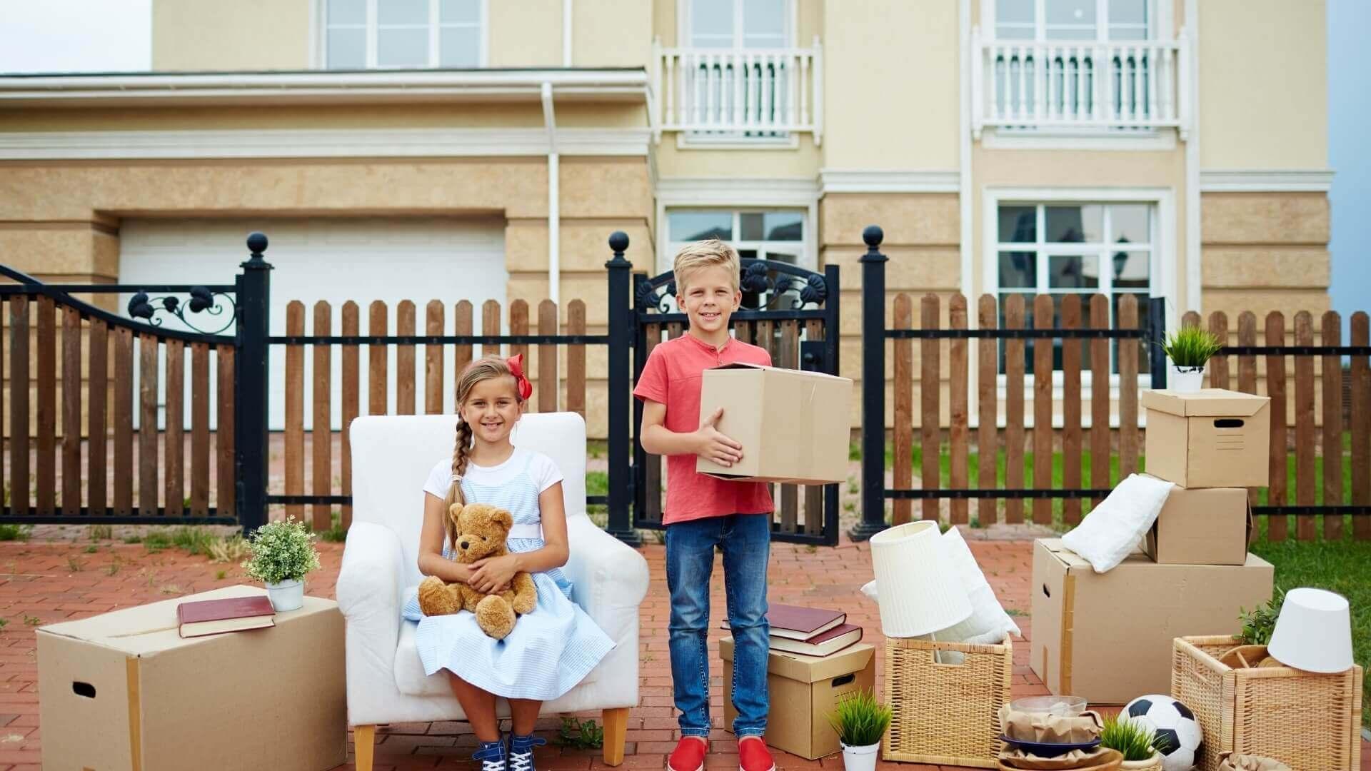przeprowadzki mieszkań